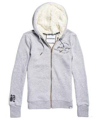Dámska Mikina APPLIQUE ZIPHOOD SuperDry
